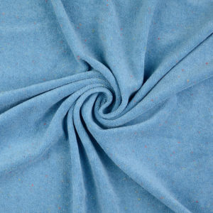 MB7291 - Frottee blau - 80%CO 20%PES - 140cm - CHF 22.-/m