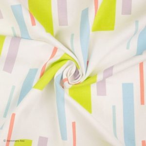 TI7417 - Canvas weiss/bunt - 100%CO - 140cm - CHF 23.-/m